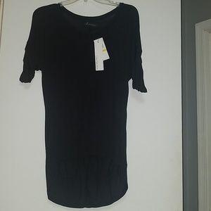Black Calvin Klein Jeans High Low Shirt